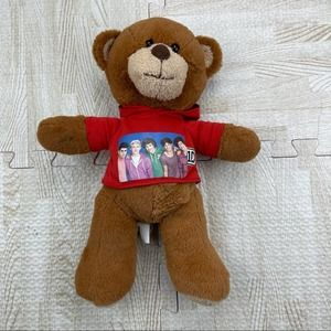 1D One Direction 2012 Teddy Bear Red Hoodie Plush